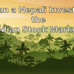 Can a nepali invest in the indian stock exchange
